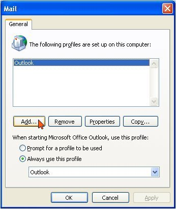outlook2003_addprof
